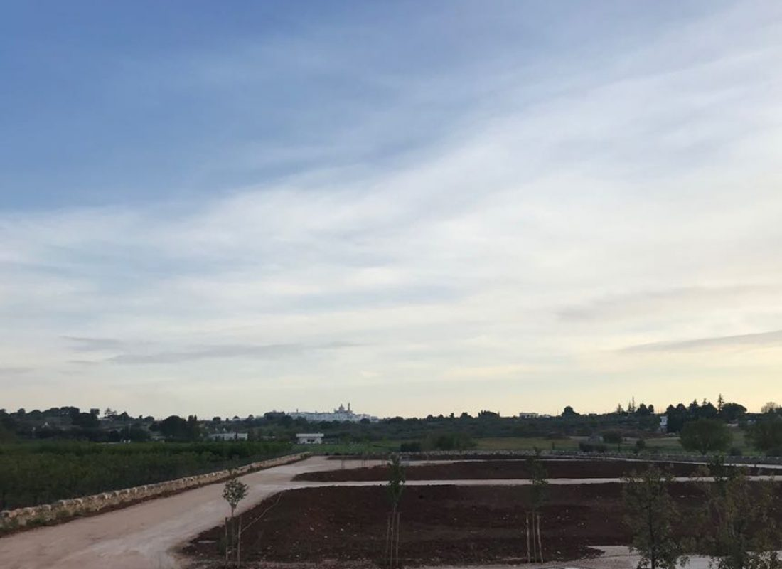 Buffer ecologici dell'impianto di Martina Franca