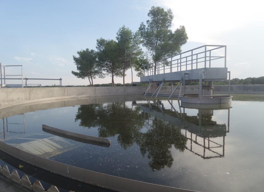 Impianto di depurazione di Lizzano