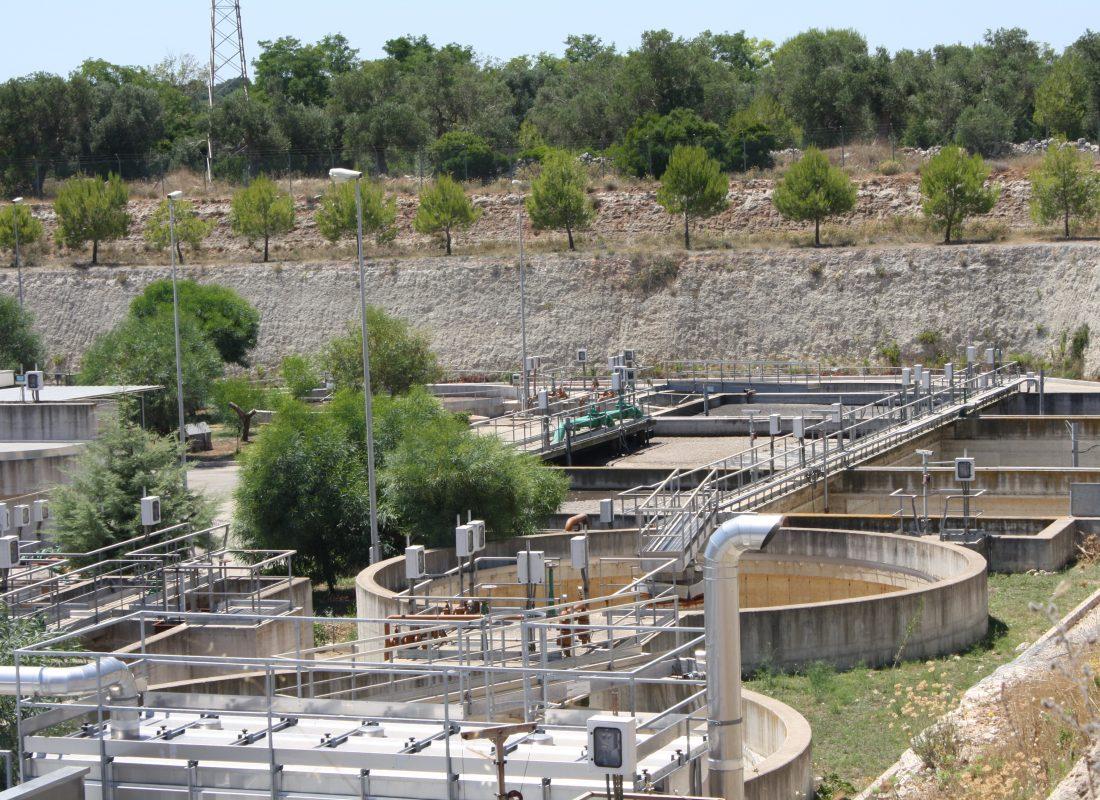 Panoramica dell'impianto di Castrignano