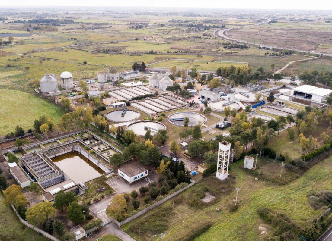 Panoramica dell'impianto di Lecce